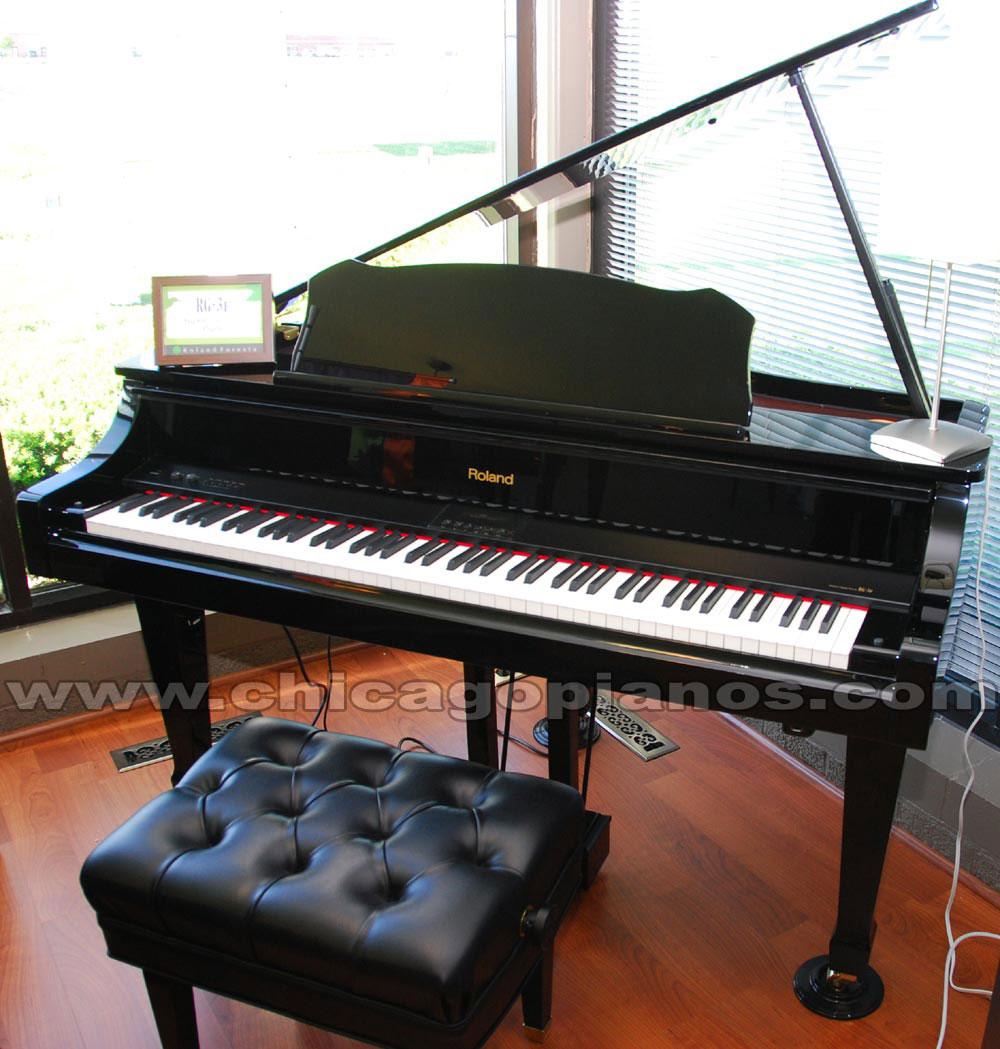 roland digital pianos from chicago pianos com. Black Bedroom Furniture Sets. Home Design Ideas