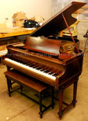 Used Chickering Quarter Grand Piano from Chicago Pianos . com