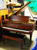 Used Lester grand piano from Chicago Pianos . com