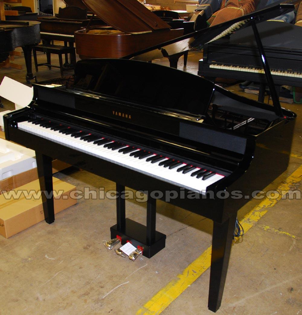 Yamaha clavinova digital pianos from chicago piano store for Yamaha clavinova cvp 601