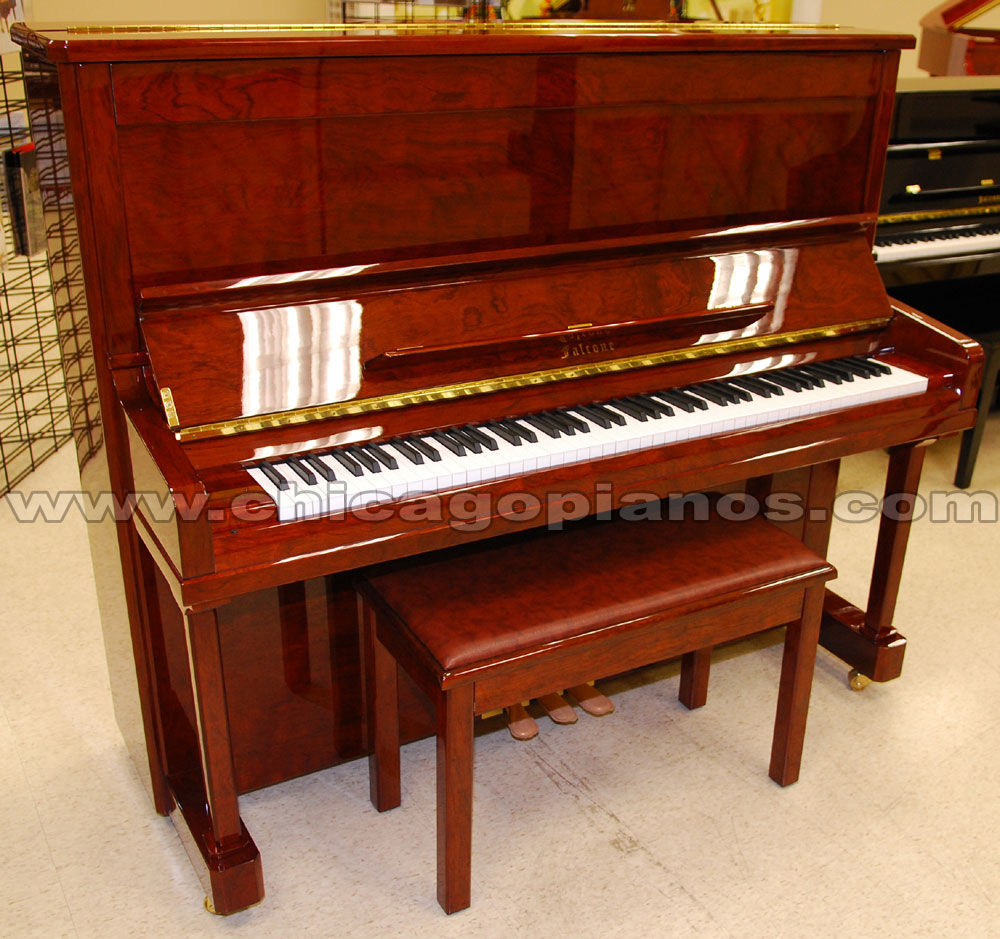 falcone upright pianos complete inventory from chicago pianos com. Black Bedroom Furniture Sets. Home Design Ideas