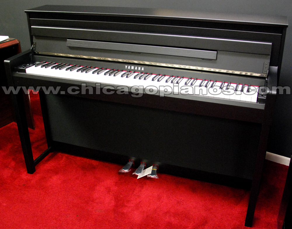 yamaha clp525 clavinova digital piano dark rosewood black walnut car interior design. Black Bedroom Furniture Sets. Home Design Ideas