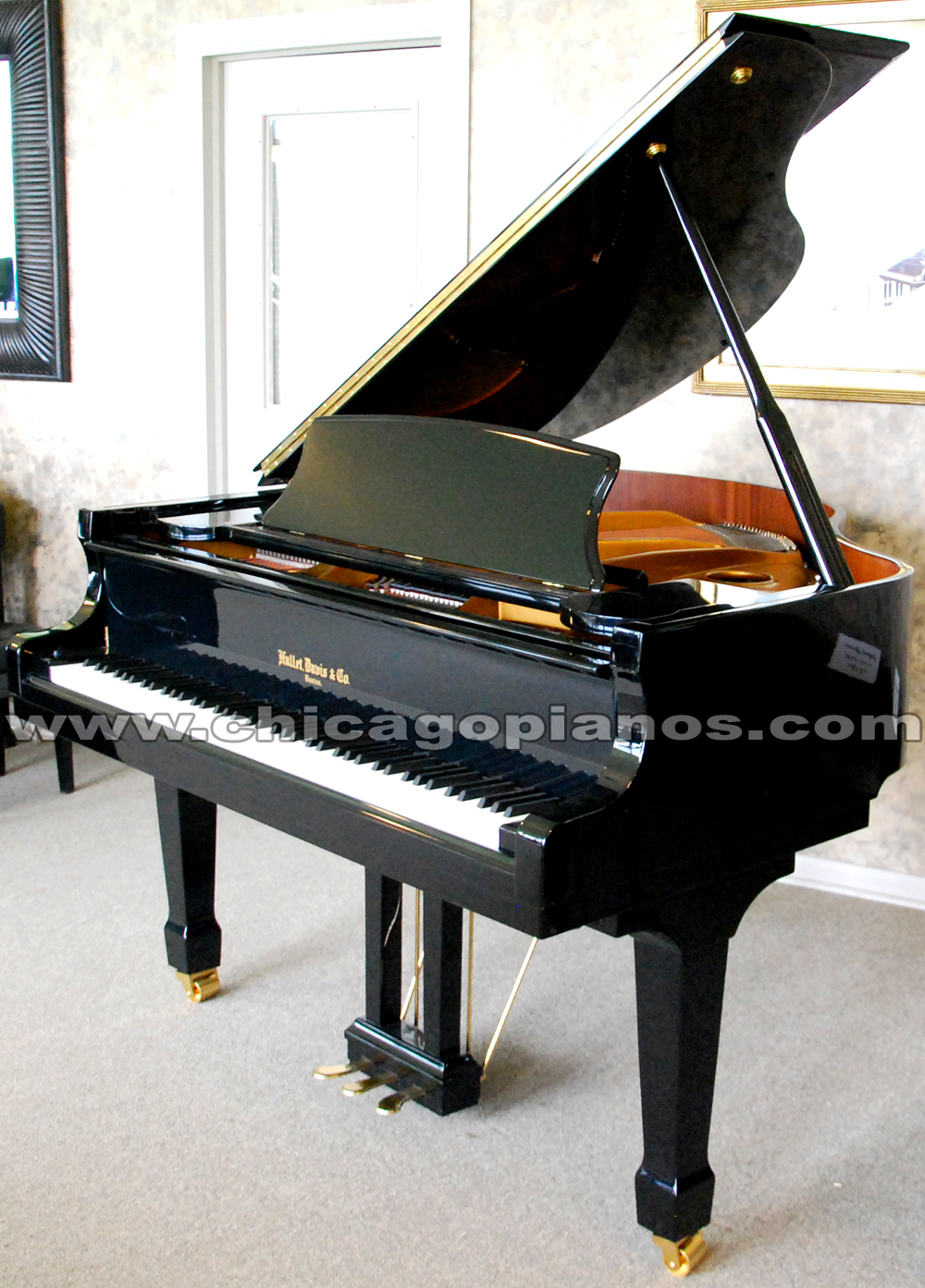 Hallet Davis Grand Pianos From Chicago Pianos Com