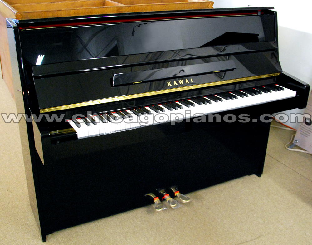 Kawai upright pianos from chicago pianos com for Piano upright dimensions